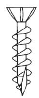 "<div style=""white-space: pre-wrap;"">Flat Head (Type 17 w/ Nibs)</div>"
