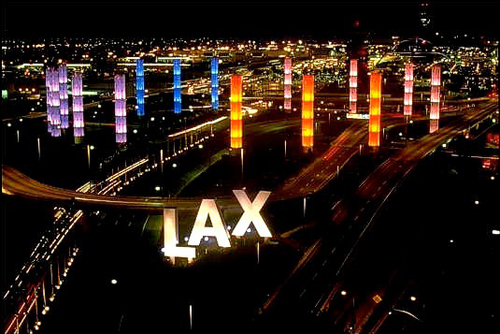 LAX Pylons - Los Angeles, CA