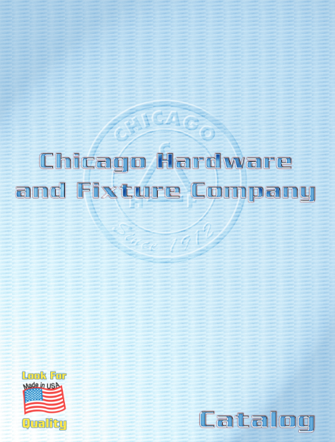 Download the full Chicago Hardware & Fixture catalog (PDF)