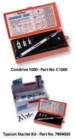 Tapcon Condrive® 1000 Tool Kit and Starter Kit