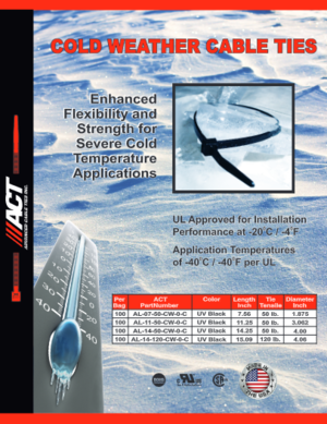 ACT Cold Weather Cable Ties