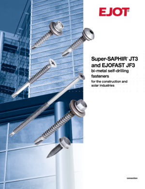 EJOT Bi-Metal Self-Drilling Fasteners