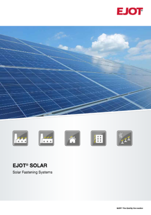 EJOT Solar Fastening Products