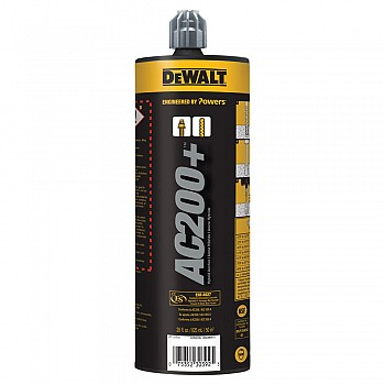 DeWALT AC200+™ Acrylic Injection Adhesive Anchoring System