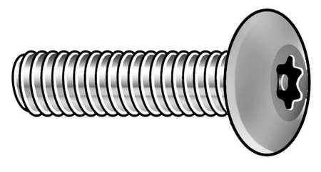 Button Head Pin-In Torx Tamper Resistant Machine Screw