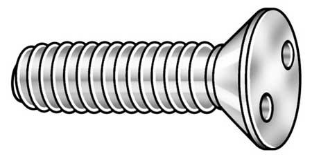 Flat Head Spanner Tamper Resistant Machine Screw