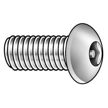Button Head Pin-In Hex Tamper Resistant Machine Screw