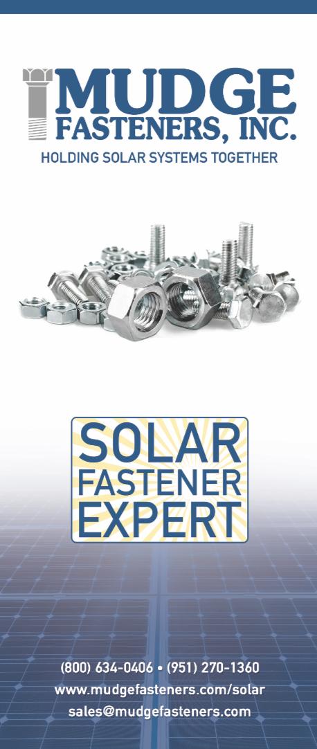 Mudge Solar Installer Brochure