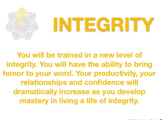 It all starts with Integrity, a cornerstone value at YMAD. #ymadindia