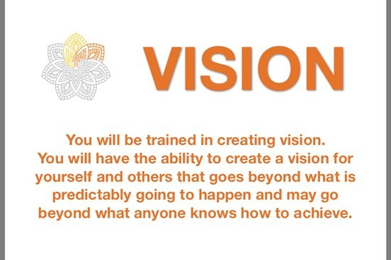 Vision...what are your life lenses? If you have been through YMAD leadership training you know the importance of vision. Another of our cornerstone values. #ymadindia