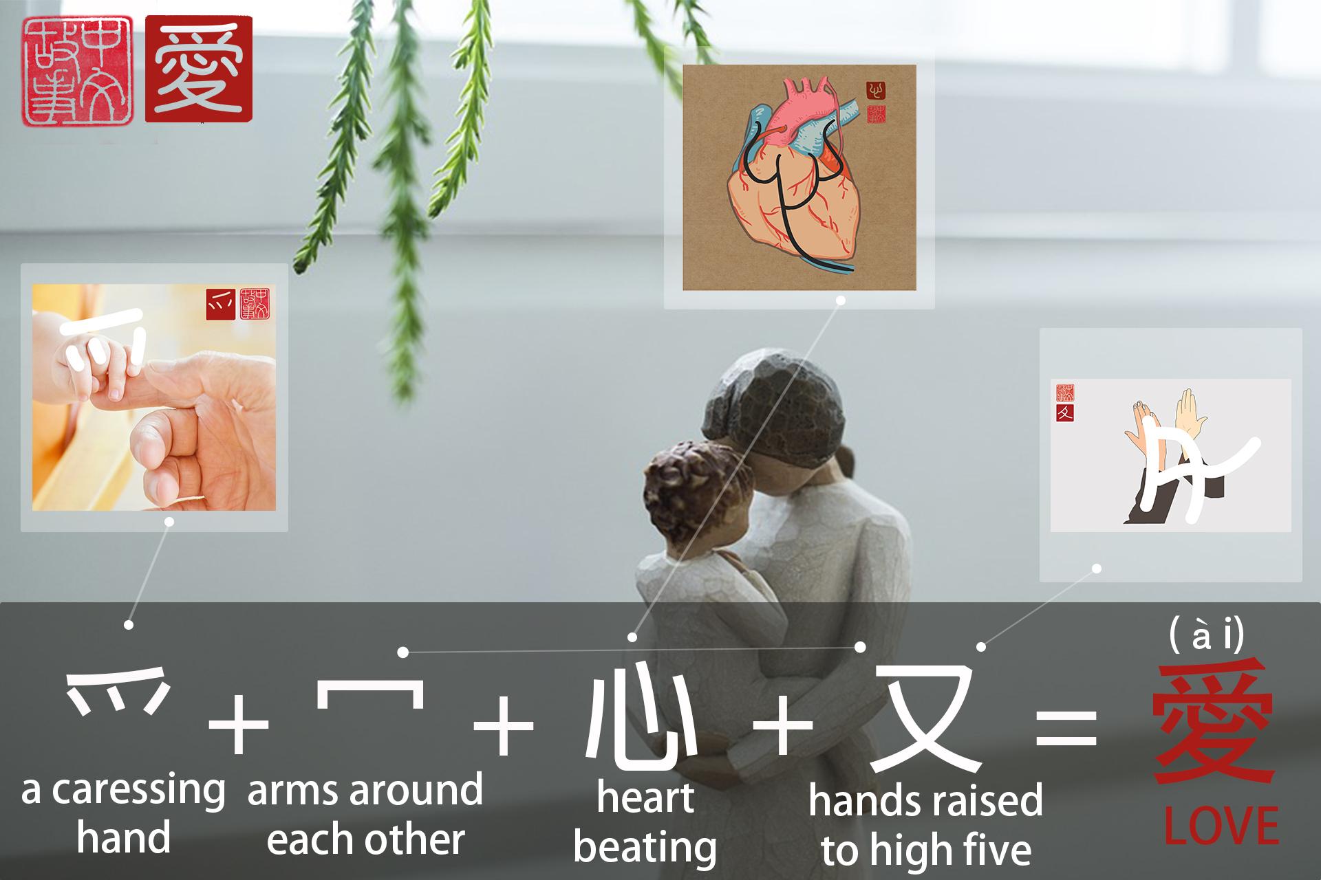 愛(ài) - I love thee purely, as they turn from praise.