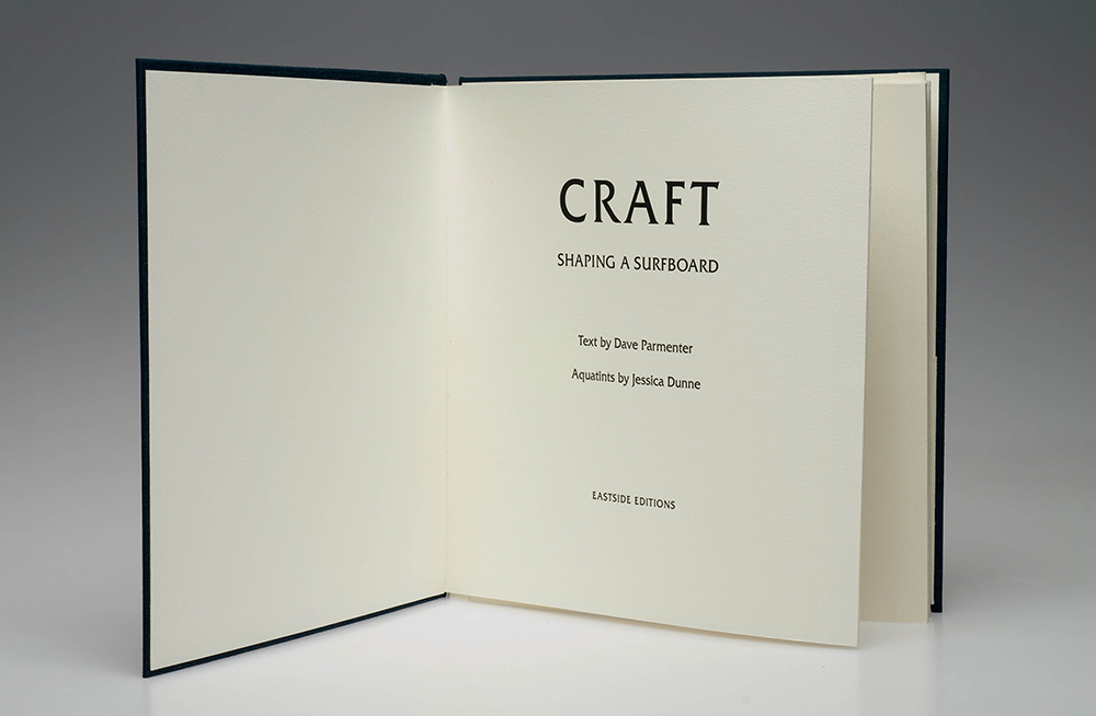 Craft  2009 Text by Dave Parmenter Published by Eastside Editions