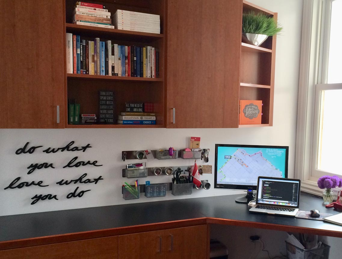 My office in SF used to be my happy place.