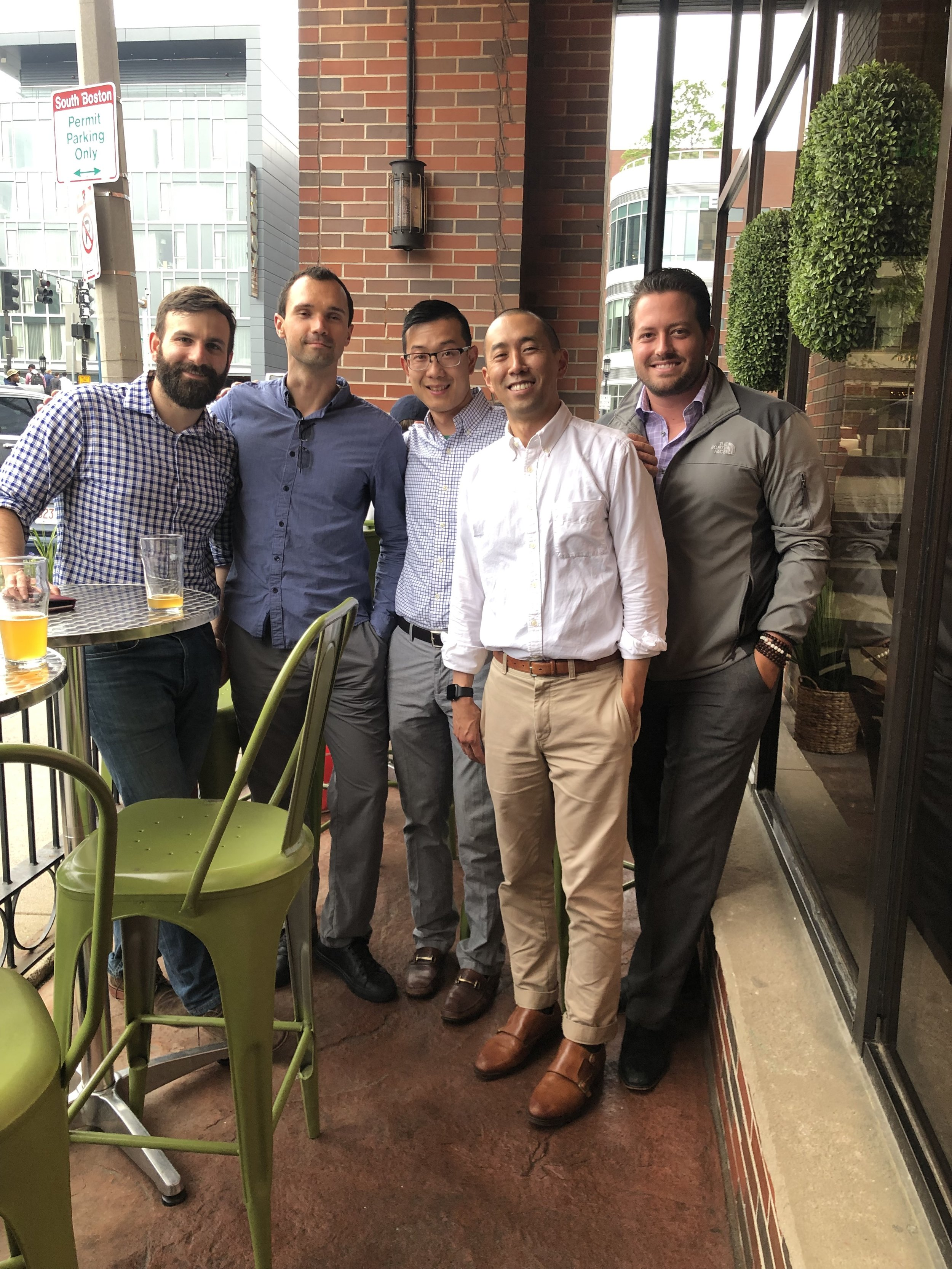 Robert Cakounes, Kirill Sinyavsky, Stan Liu, Scott Kobayashi, and Eric Nelsen
