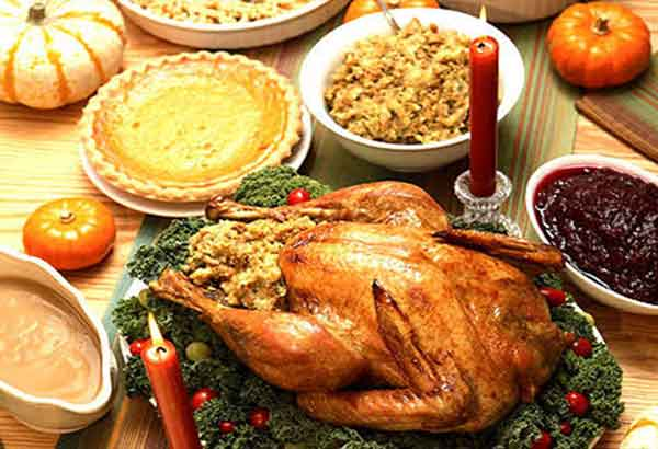 turkey on the holiday table.jpg
