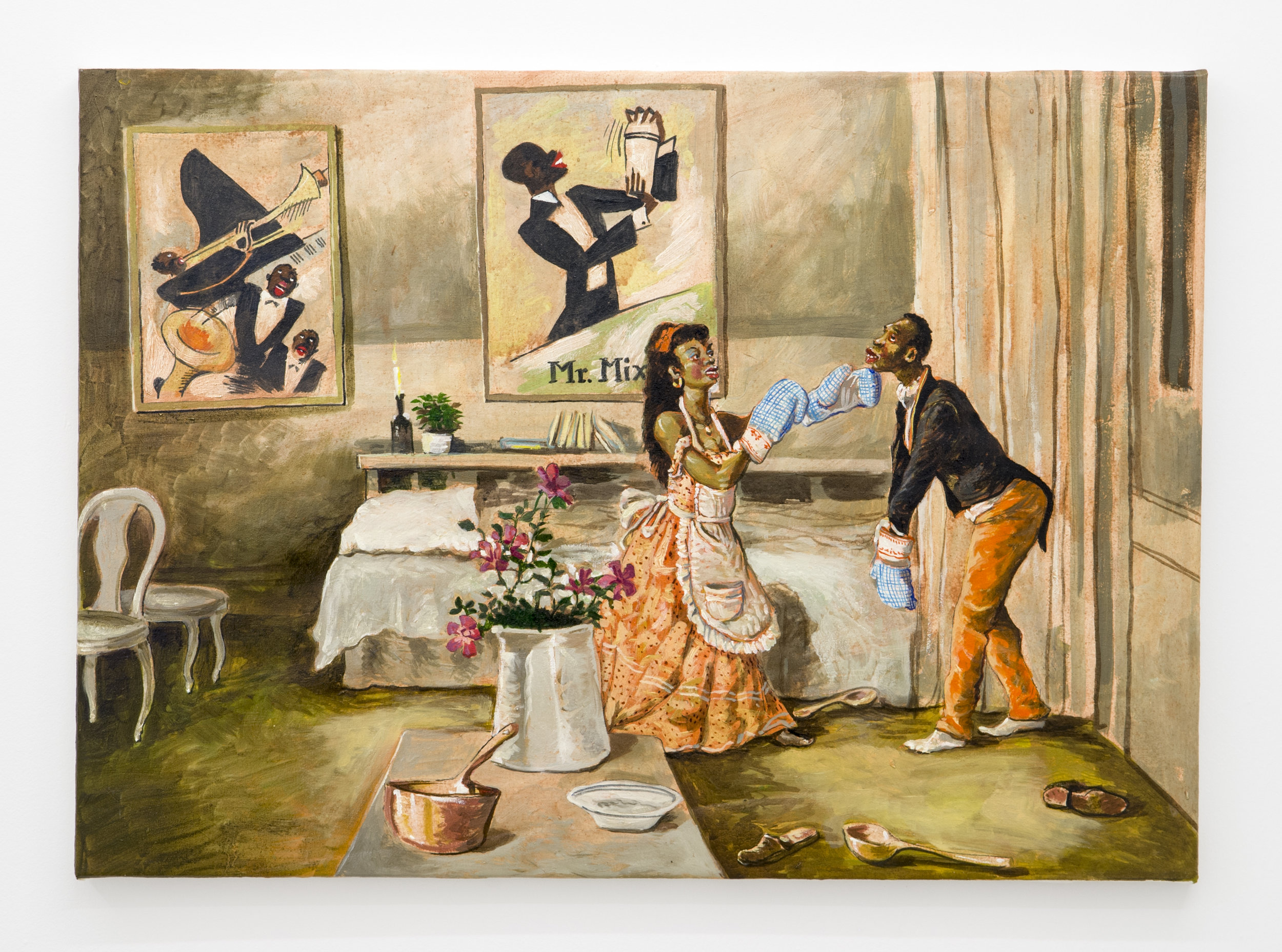 Douglas Pérez Castro, Mr Mix ,2015,Oil on canvas,50 x 70 cm