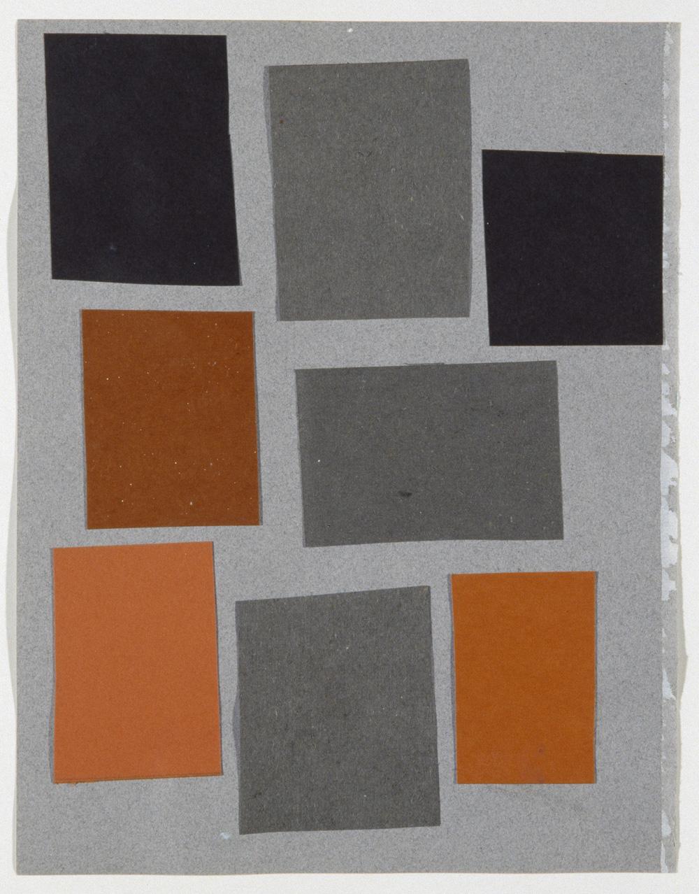 Richard Hawkins, Abstract Array 1 ,2006,Collage,27.7 x 21 cm, Courtesy Corvi-Mora, London