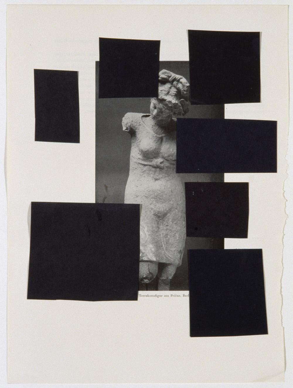 Richard Hawkins, Union of Eroticized Gender with Abstract Overlay / Surplus ,2006,Collage,29.2 x 21.6 cm,Courtesy Corvi-Mora, London