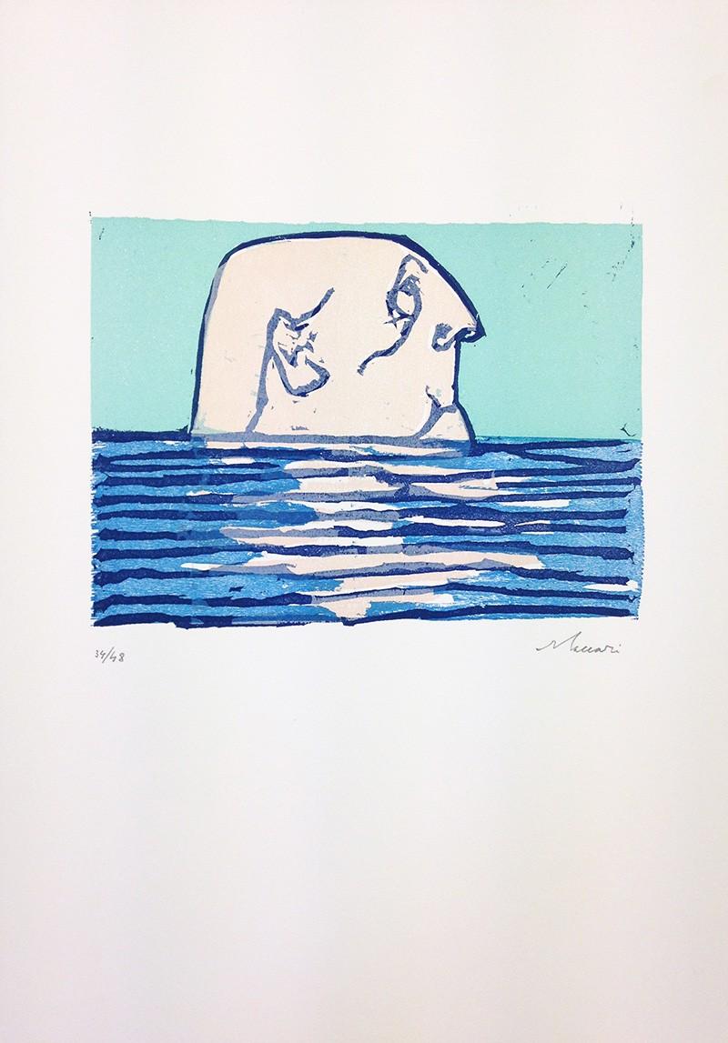 Mino Maccari,  Untitled , 1970, Print, 49 x 34.5 cm