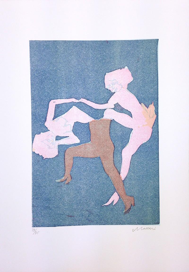 Mino Maccari,  Untitled , 1975, Print, 50 x 35 cm