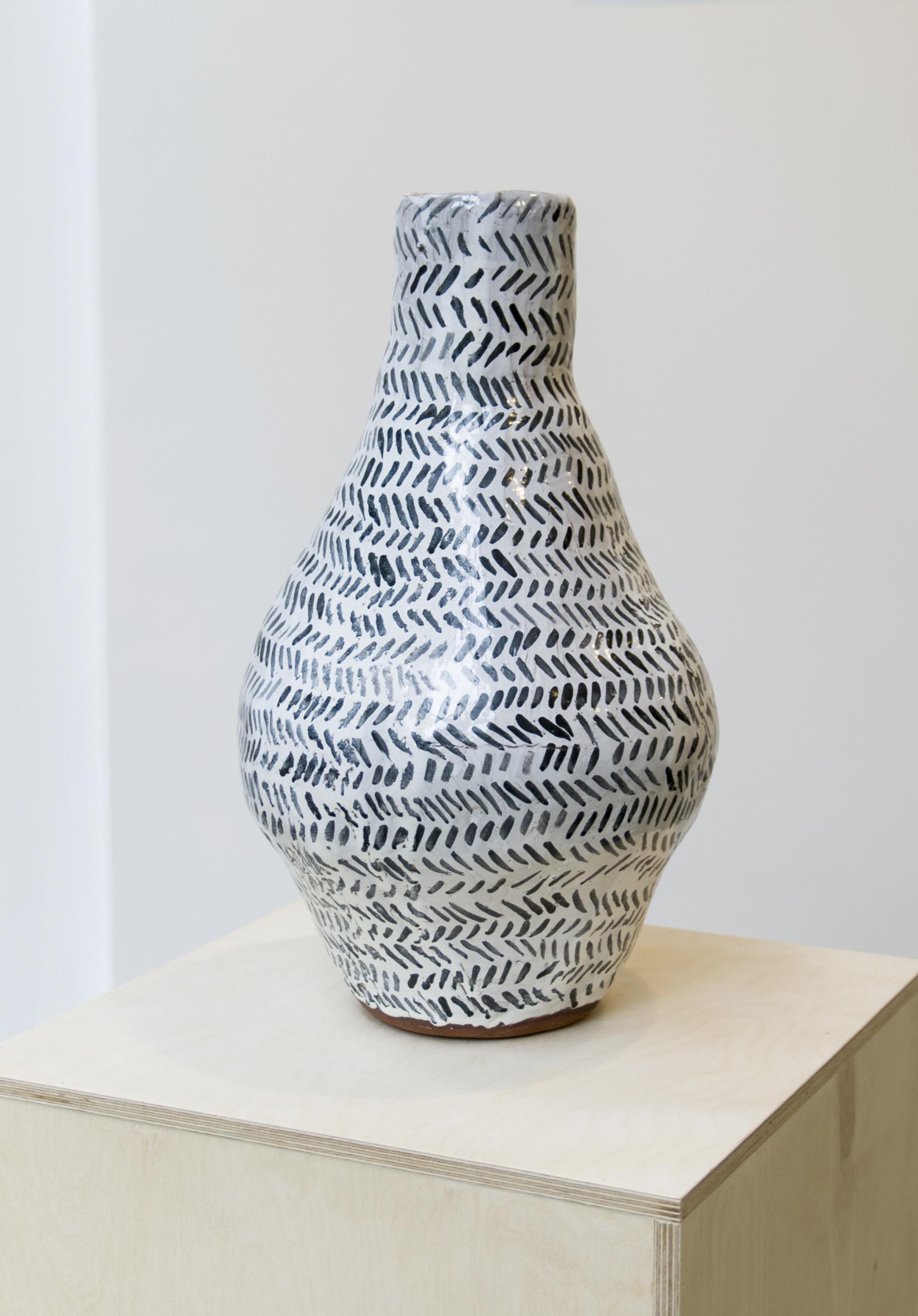 Katie Schwab,  Half of Pair , glazed terracotta