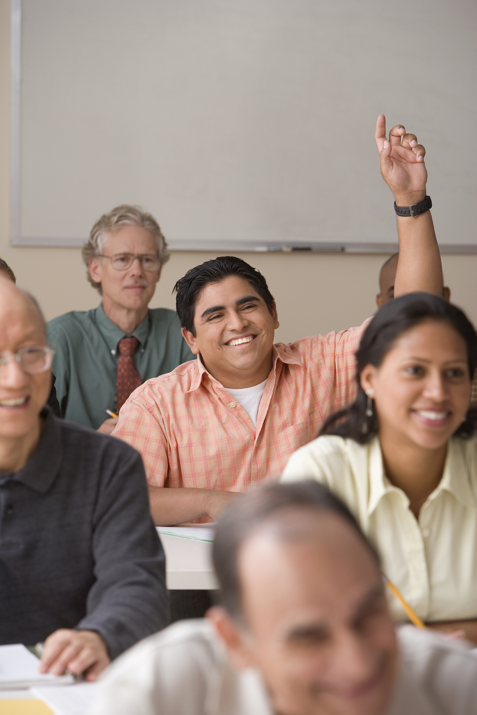 An ESL class, English as a Second Language at Bethel