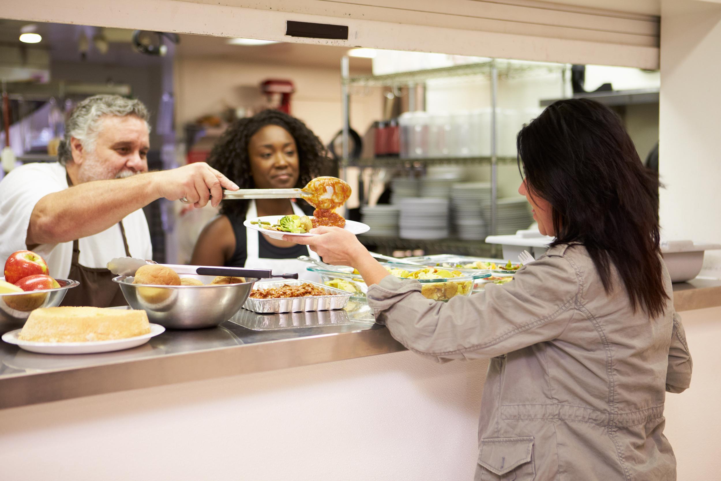 Free hot meal at Faith Café for Washington county neighbors