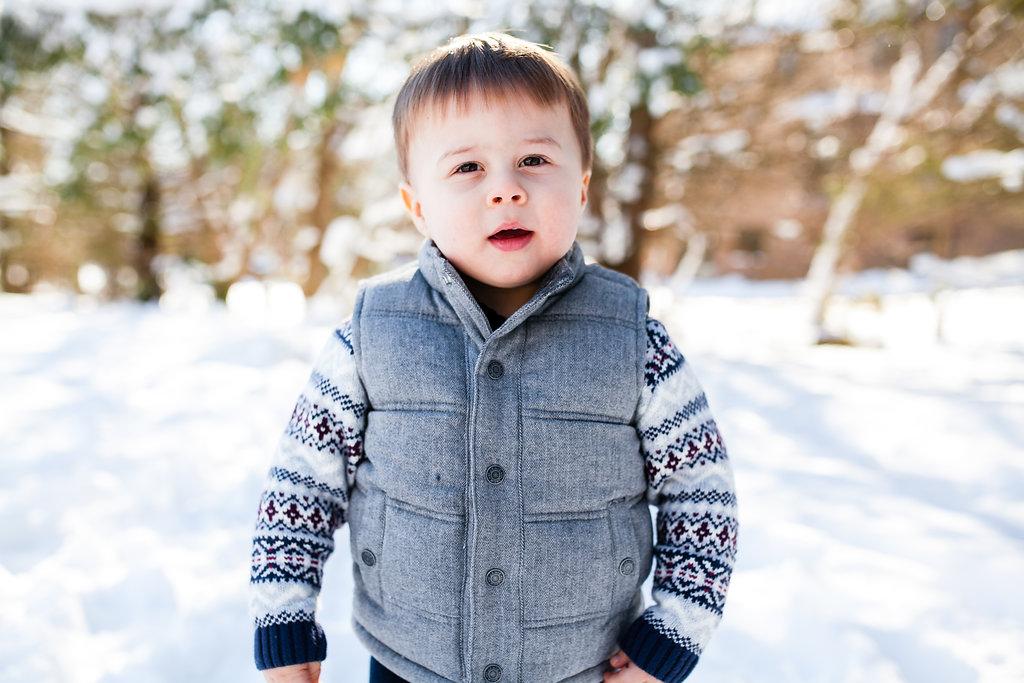 Toddler portraits Clarkston Michigan