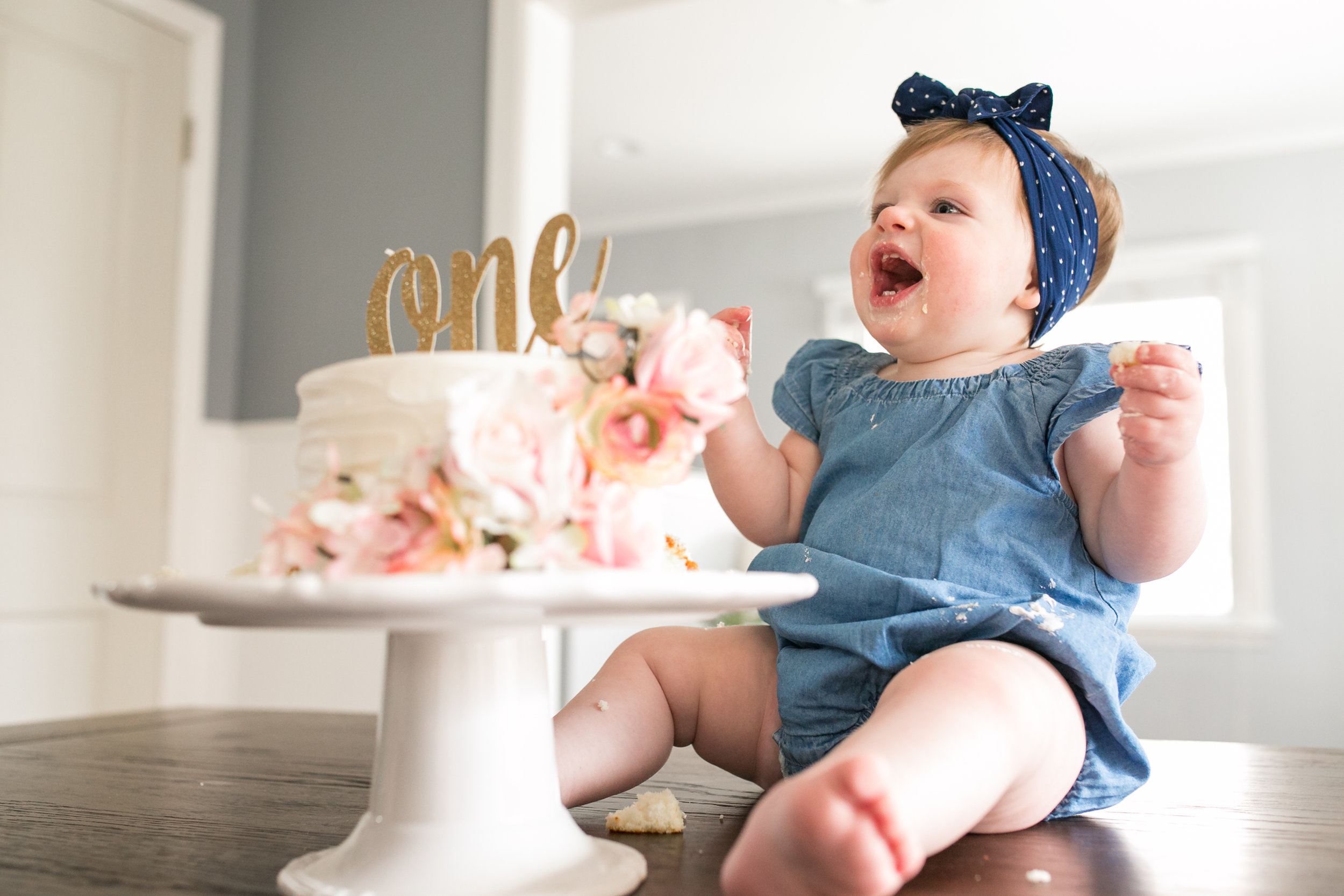 cake smash photographer rochester michigan