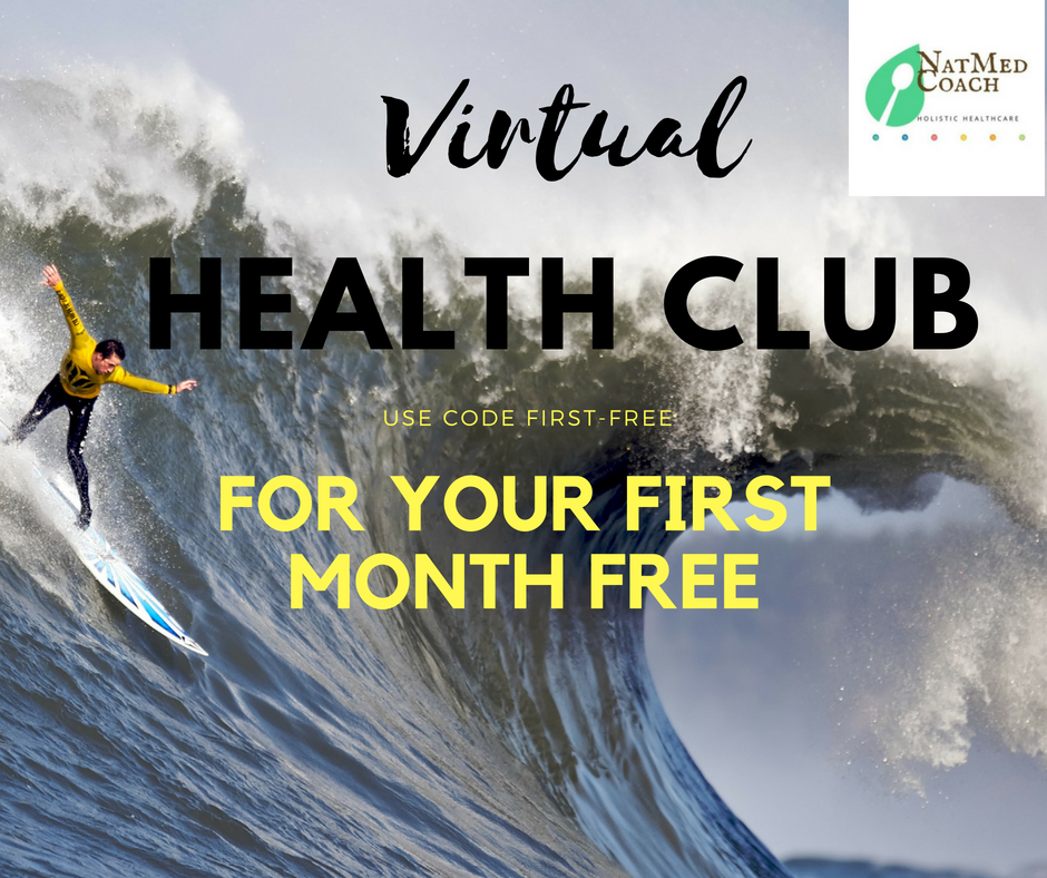 Join Health Club to participate in a group coaching setting - Your first month is free and you can cancel at any time