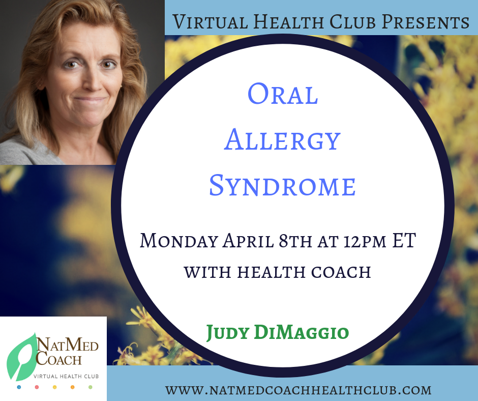 Oral ALlergy syndrome with judy dimaggio.png
