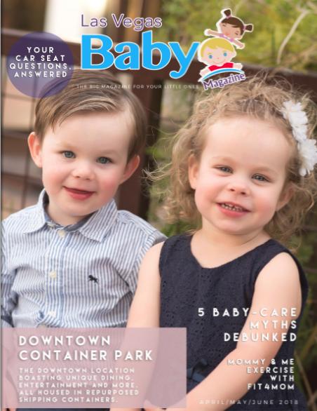 Las Vegas Baby Magazine April 2018