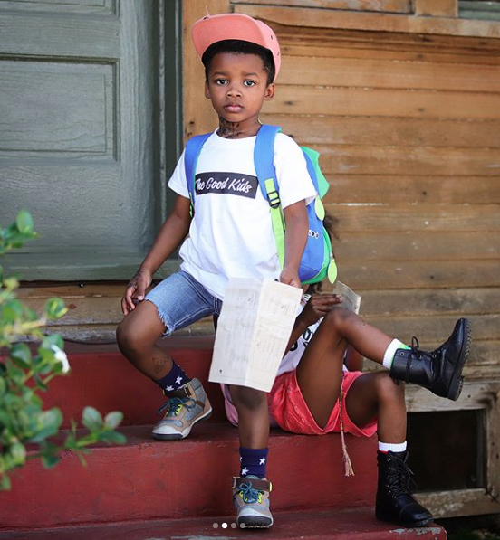 Levi (@lovewithchance) wearing The Good Kids
