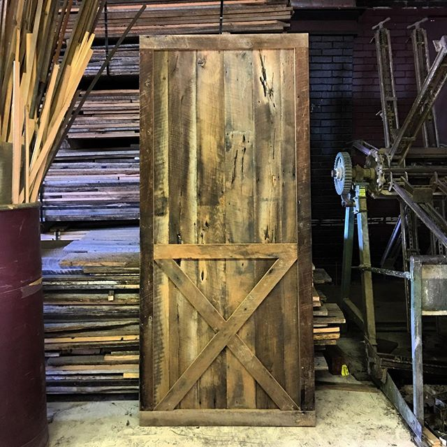 these barn doors are flying off the tracks!! Call us today!! • • • #copeandstick #reclaimed #repurpose #recycle #upcycle #millwork #metal #steel #art #wood #workflow #design #custom #handmade #supportsmallbusiness #fabrication #fab101 #craftsmen #charlotte #nc #ctl #qc #oak #Vintagelumberyard #handmade #reclaimedwood #beams #designinspo #interiorinspiration