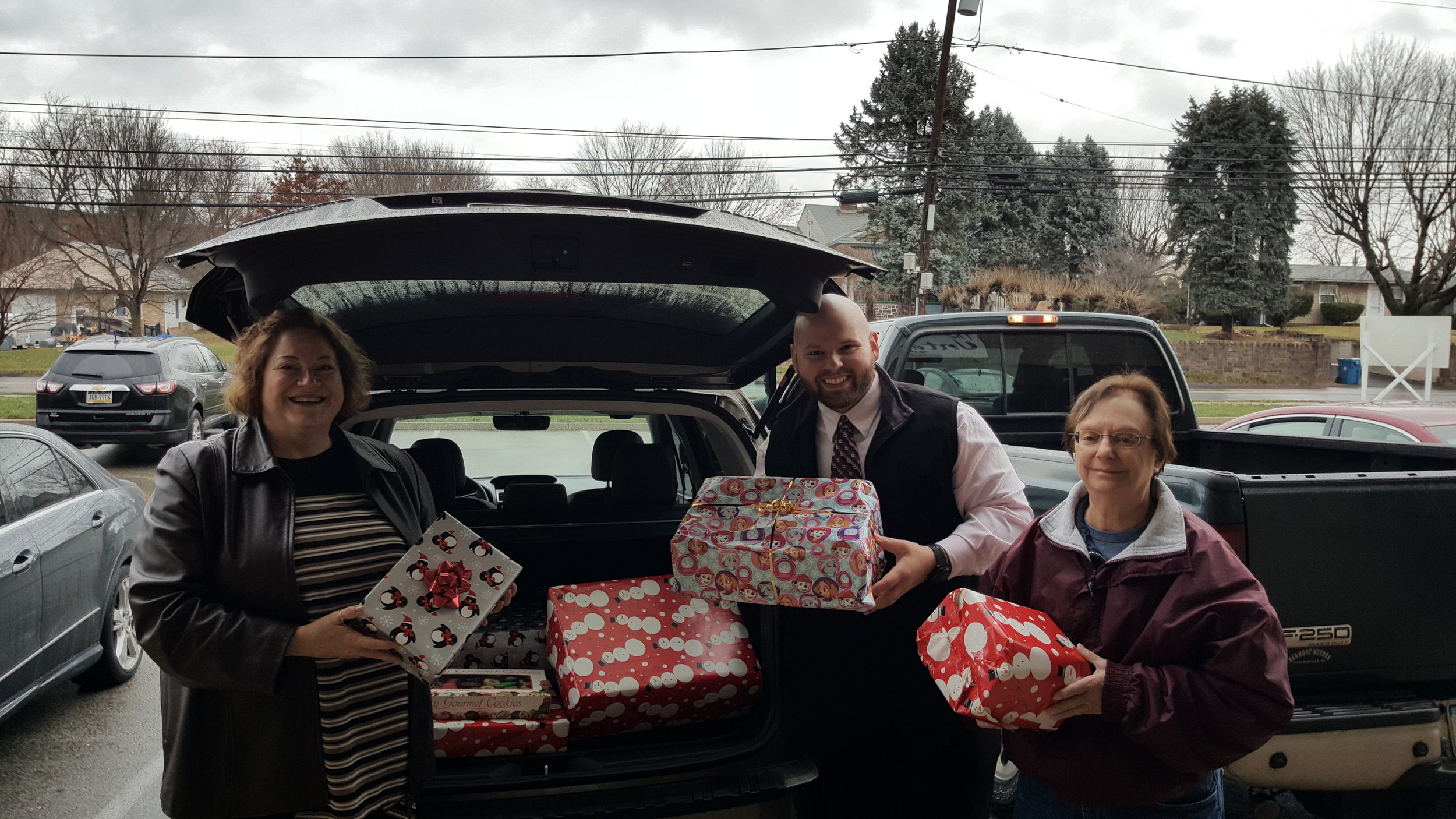 In December, presents collected at our Holiday Party were presented to Montgomery County Veteran Center for a Marine family in need. CMC BPW also donated to Norristown State Hospital and Parkside Adult Day.