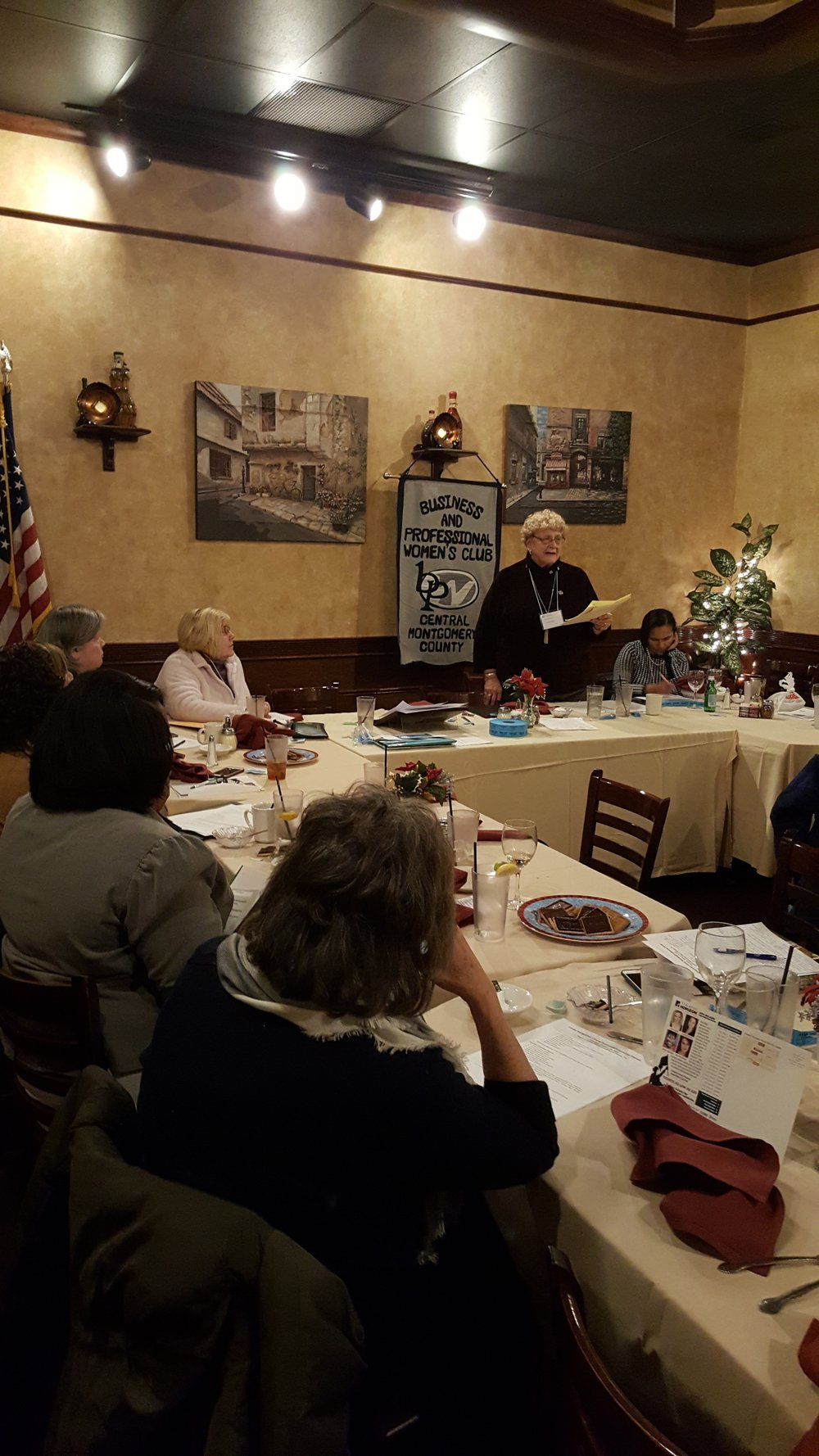 - Longtime CMC member, Norma Zarfoss gave a stellar talk on BPW PA Foundation during our January meeting. Norma is usually joined by Past State President, Nancy Werner, who will be back to is real soon! Foundation supports scholarships and Edith Oler emergency fund. Visit bpwpa.org to learn more.