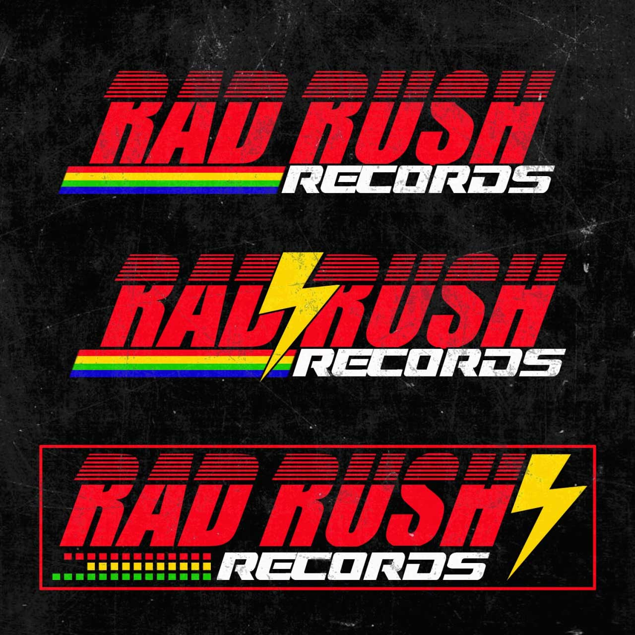 80's Logo Design - Synthwave Logo