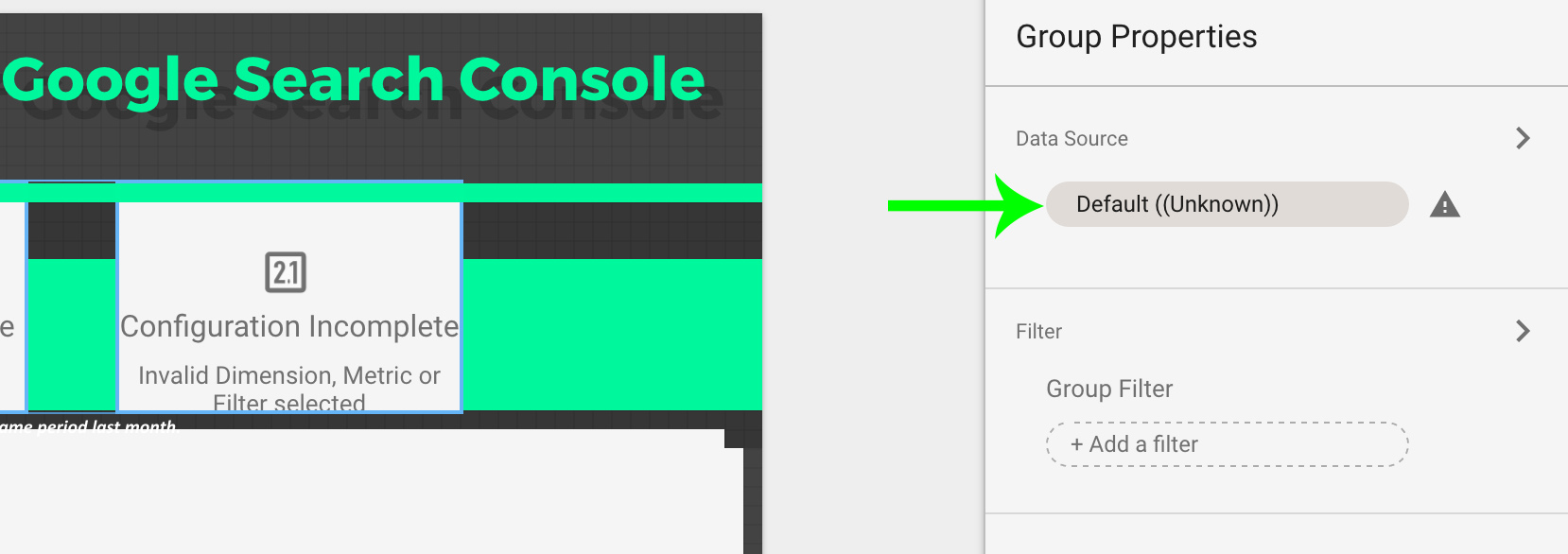 Replace Data Source from Data Studio