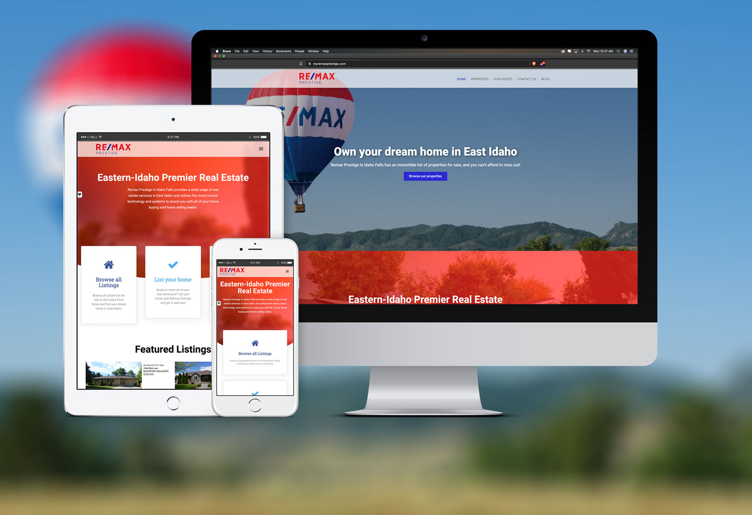 Remax-Prestige-Web-Design