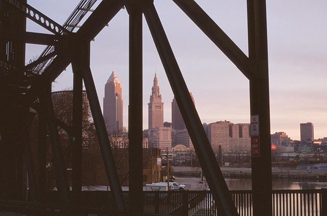Cleveland: the city boring people don't like.. Kodak Ektachrome 100 Pentax Me Super