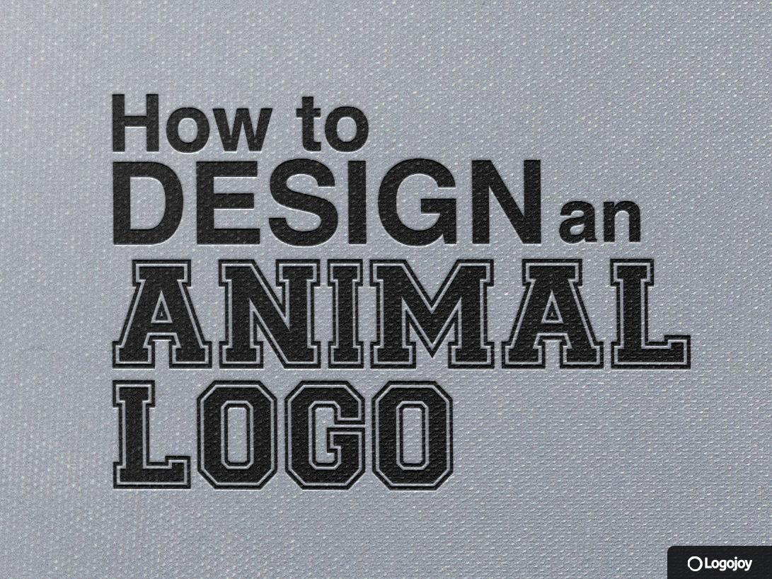 How to Design an Animal Logo -