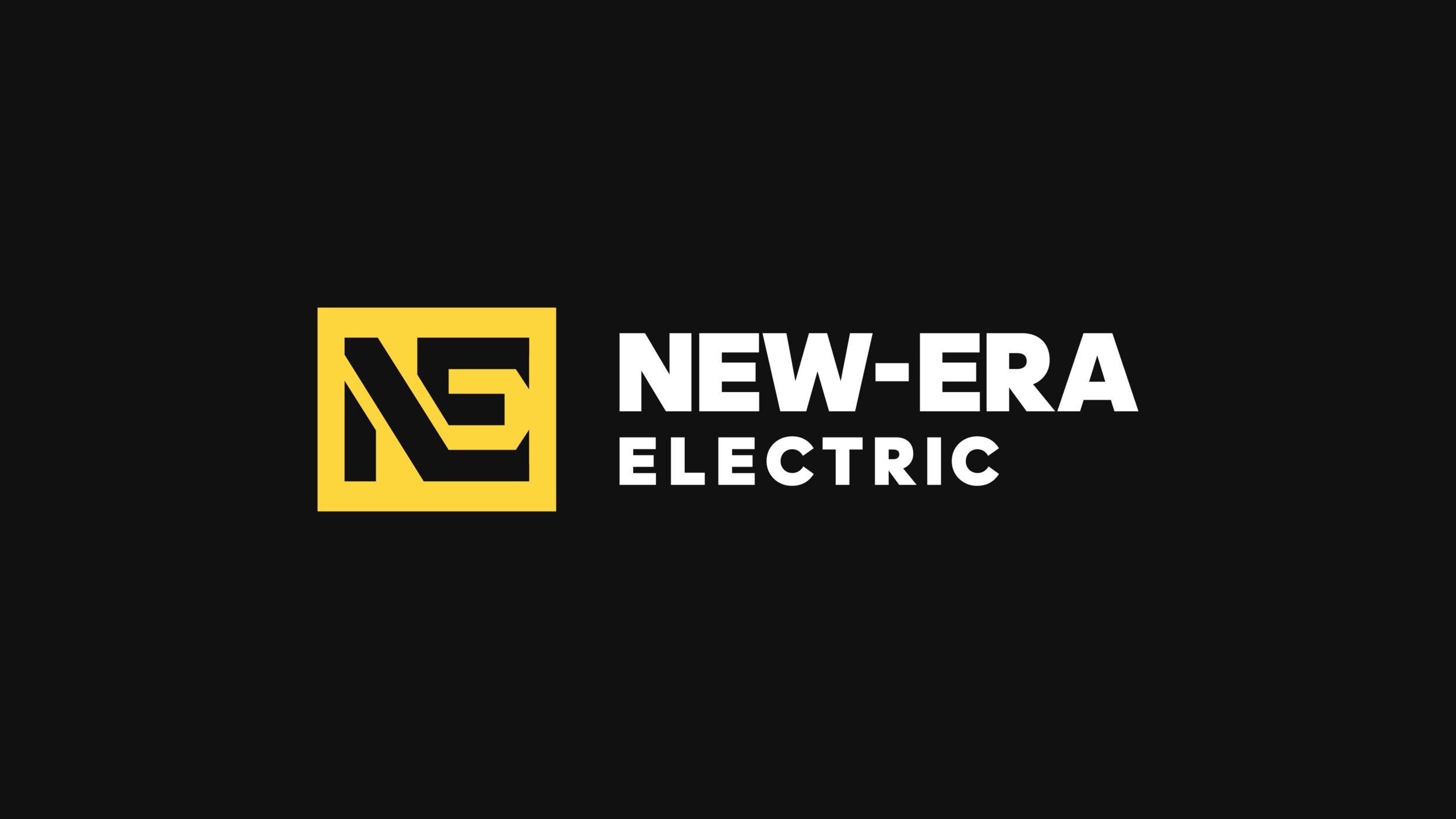 New Era Electric  - Brand Identity