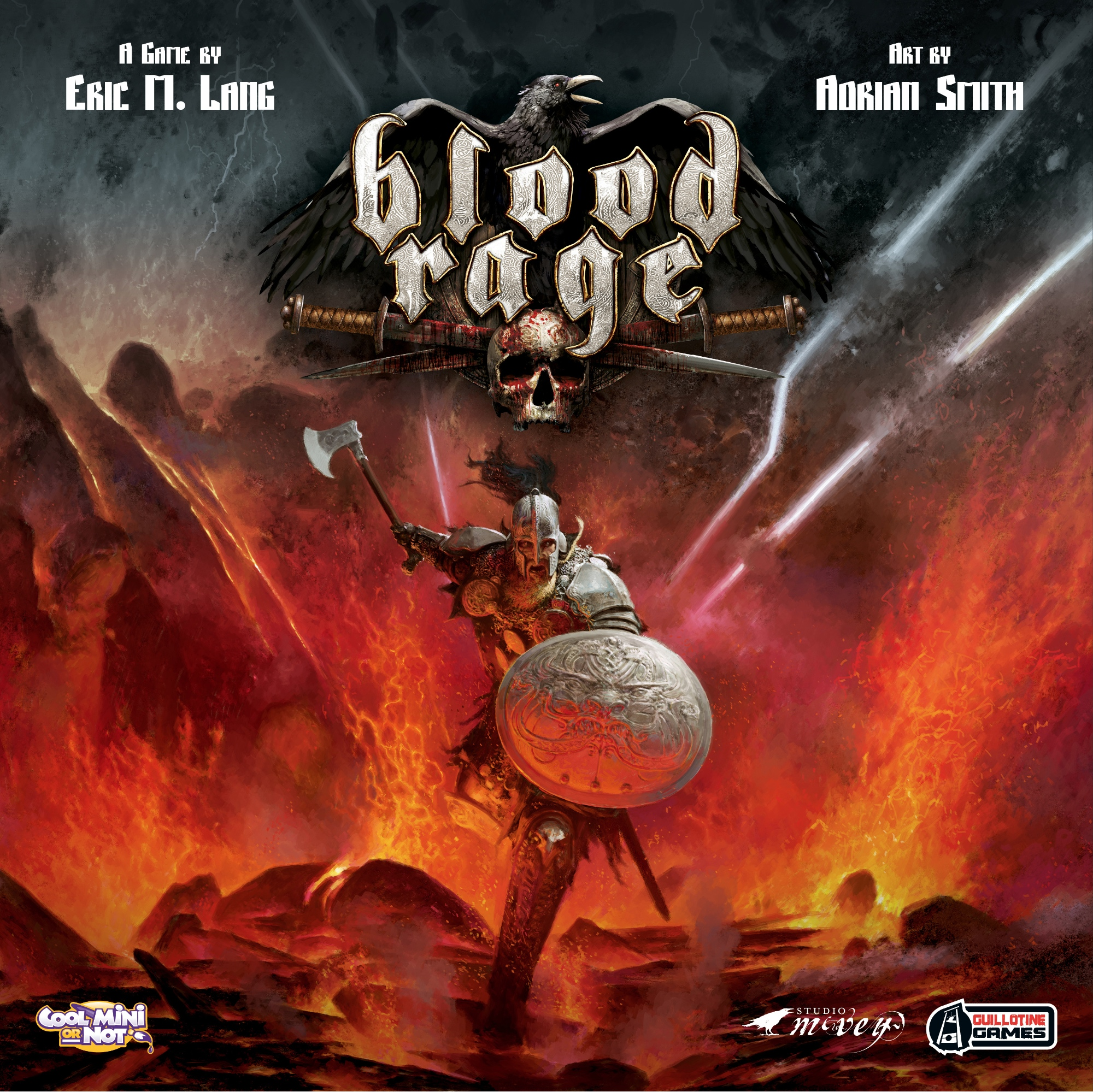 Blood Rage - Written ReviewVideo - Rook & Record - Blood RagePodcast - Review & Behind the Scenes - Blood Rage