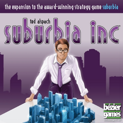 Suburbia: Inc - Written ReviewVideo - Cardboard Cutouts: 3 Great Expansions that Take it to 11Podcast - Interview with Ted Alspach (Designer)Podcast - Ted Alspach returns! (Designer)