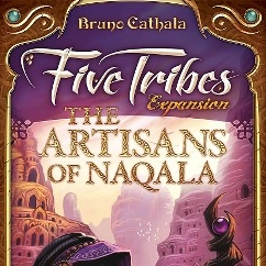 Five Tribes:The Artisans of Naqala - Written ReviewPodcast - Interview with Bruno Cathala (Designer) Podcast - Review & Behind the Scenes - Five Tribes: The Artisans of Naqala