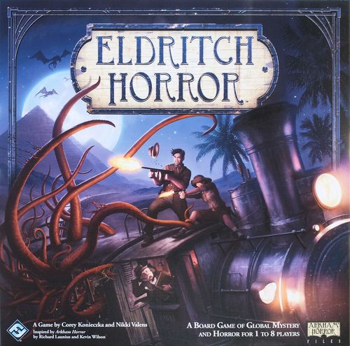 Eldritch Horror - Written ReviewPodcast - 2016 Year End Variety Show Spectacular