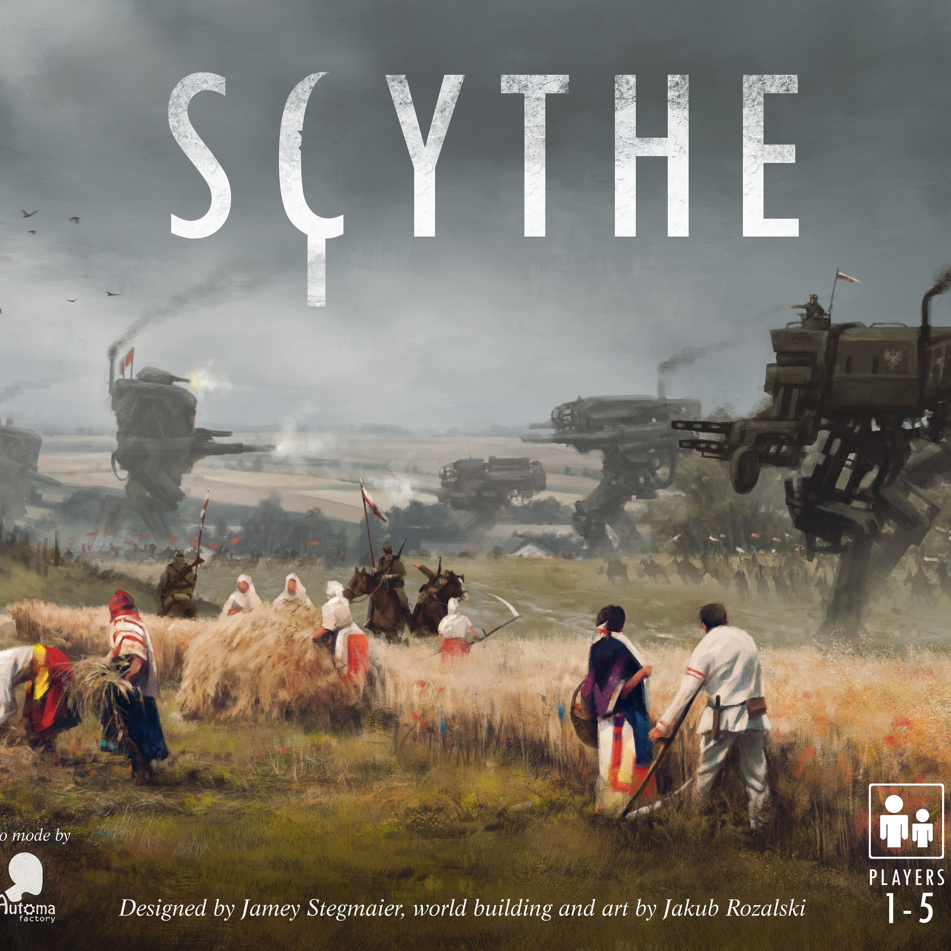 Scythe - Written ReviewVideo - Rook & RecordPodcast - Interview with Jamey Stegmaier (Designer)Podcast - Jamey Stegmaier Returns (Designer)Podcast - Interview with Morten Monrad Pederson (Automa Designer)
