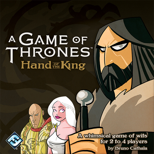 A Game of Thrones: Hand of the King - Written ReviewPodcast - Interview with Bruno Cathala (Designer)