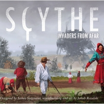 Scythe: Invaders From Afar - Written ReviewPodcast - Interview with Jamey Stegmaier (Designer)Podcast - Jamey Stegmaier Returns (Designer)Podcast - Interview with Morten Monrad Pederson (Automa Designer)