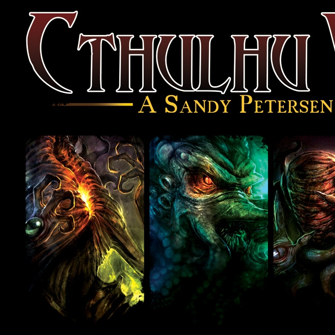 Cthulhu Wars - Written ReviewVideo - Cardboard Cutouts: 3 Strategic Horror Games to Play This Halloween